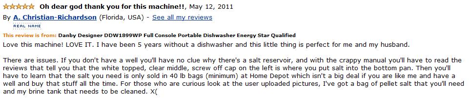 danby ddw1899wp customer review 3